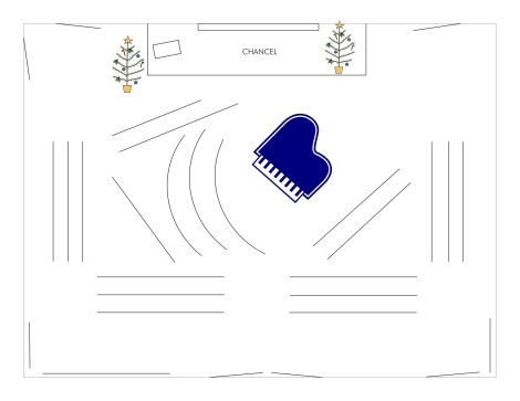 Xmas Worship Floor Plan