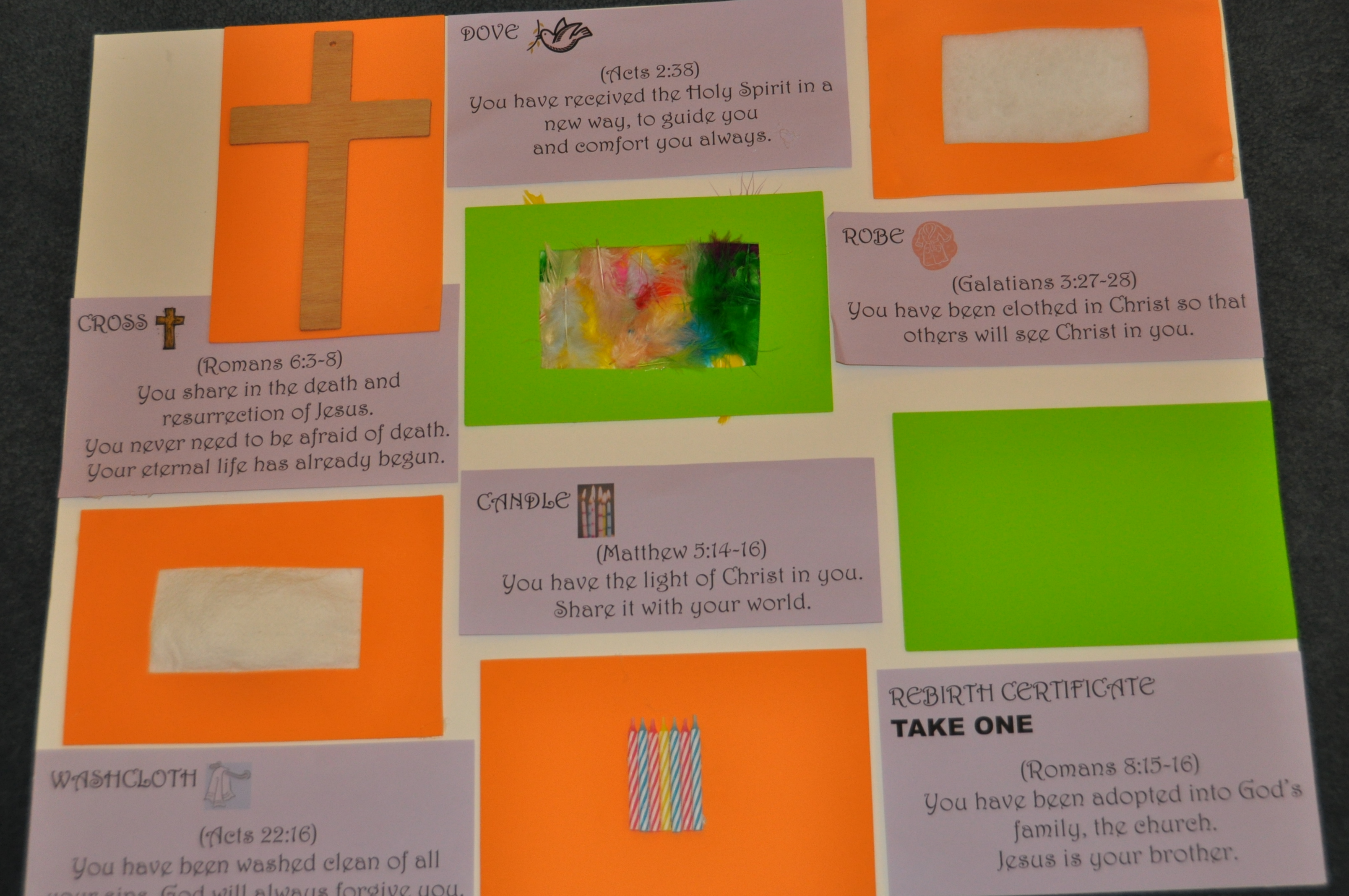 Interactive Prayer Stations on Baptism – Still Waters