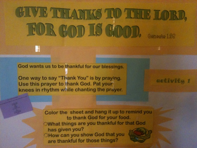 Interactive Prayer Stations on Gratitude & the Ten Lepers