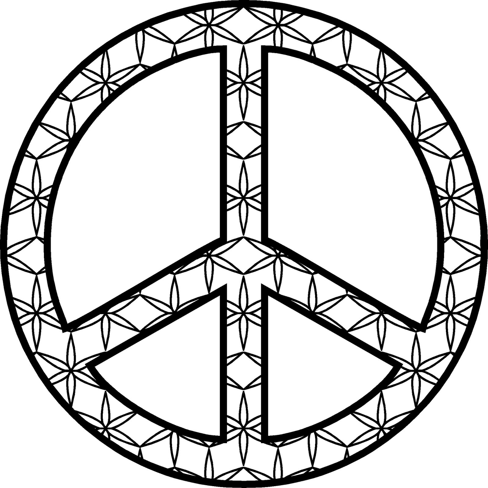 Interactive prayer stations on 10th anniversary of 9 11 for Coloring pages peace sign