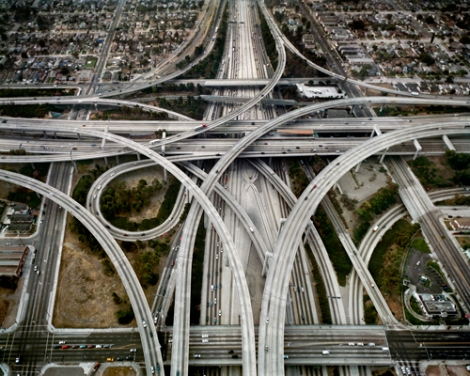 Highway-1-Intersection-105-110-Los-Angeles-California