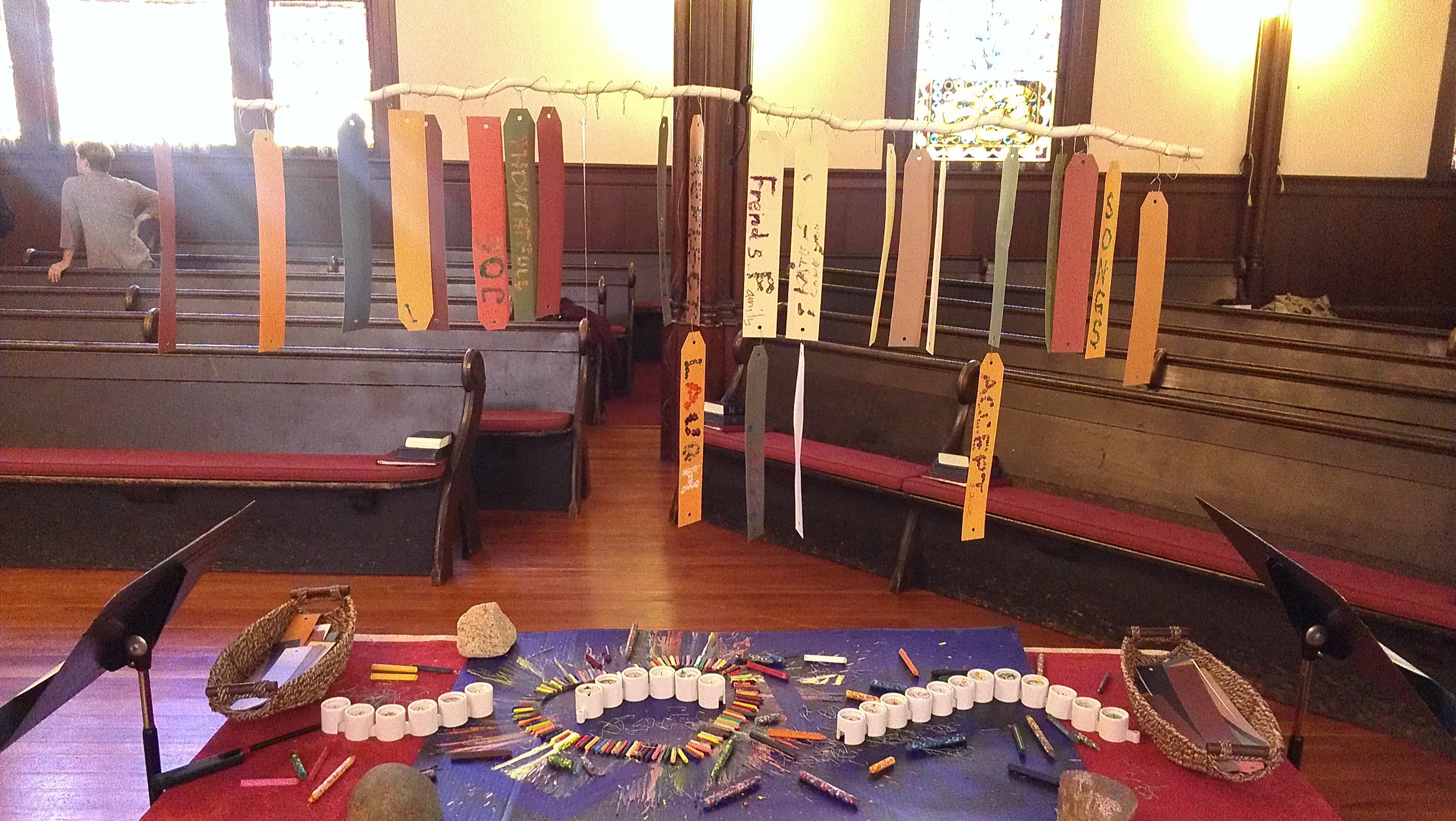 Interactive Prayer Stations on Love – Still Waters