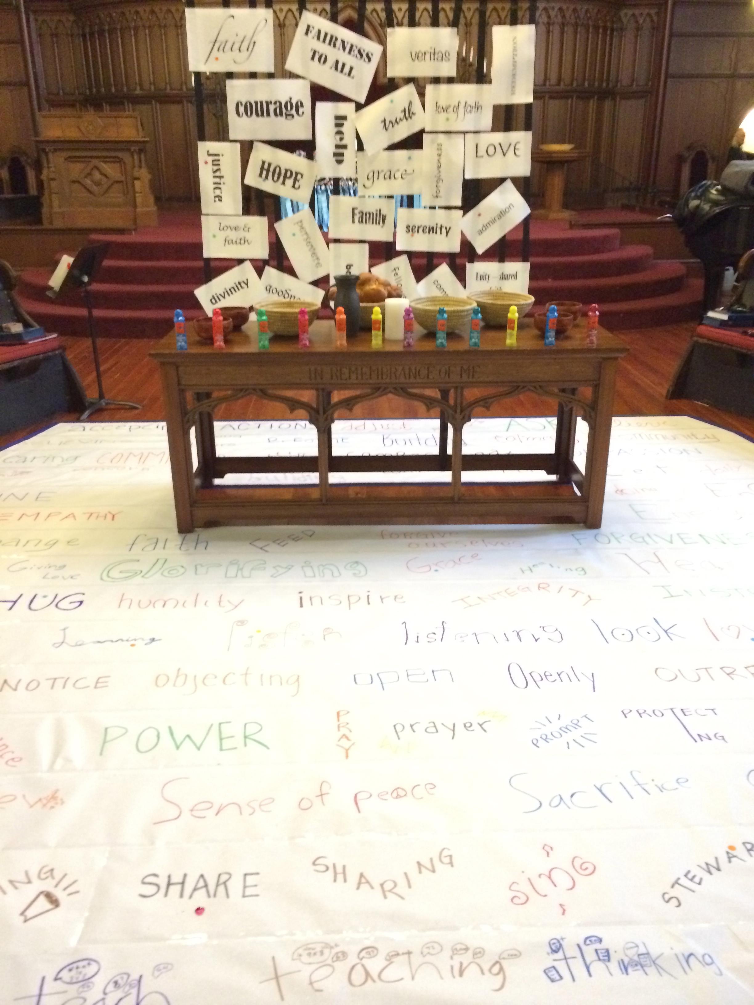 Interactive Prayer Stations on Micah 6 & Stewardship – Still