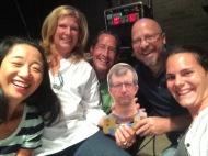 Me, Beth Mueller, Rob Mueller, Ben Johnston-Krase, Corey Nelson, Miriam Nelson